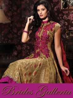 Deep Beige Designer Churidar Kameez party wear apparels collection 2013 [BGSU 9091] - US $125.66 : Latest Designer Sarees , Anarkali Suits, Salwar Kameez with duppata, Bridal lehenga Choli, Churidar Kameez, Designer Indian Saree Online Store, Wedding Lehenga Choli, Designer Salwar Kameez, Churidar Kameez,