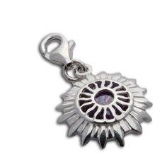 Charmas Crown Chakra Stone Charm MINI 12 mm
