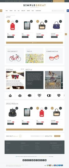 SimpleGreat Responsive #Prestashop MultiPurpose Theme http://www.themesandmods.com/prestashop-templates/simplegreat-2/