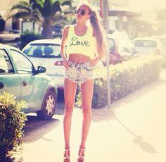 Legs. Skinny girl