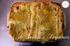 Lasanha de Seitan e Legumes | the veggie florence