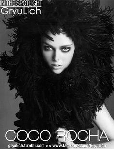 IN THE SPOTLIGHT :  Coco Rocha