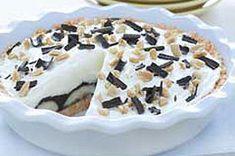 Tarta de crema de banana con mantequilla de cacahuate y chocolate Receta - Comida Kraft