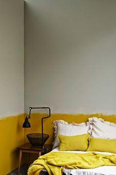 half painted wall: so chic (design folia)