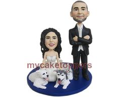 Hey, I found this really awesome Etsy listing at https://www.etsy.com/listing/101873899/wedding-cake-toppers