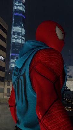 Marvel Comic Universe, Marvel Dc, Marvel Comics, Spiderman Home, Amazing Spiderman, Man Wallpaper, Marvel Wallpaper, Scarlet Spider Costume, Avengers