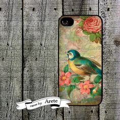 Items similar to Sweet Shabby Bird Phone Case for iPhone 4 5 SE 6 7 6 7 Plus Galaxy Edge on Etsy Cell Phone Cases, Iphone Cases, Shabby, Iphone 5 6, Voodoo Dolls, Samsung Galaxy S3, Mardi Gras, Bird, Unique Jewelry