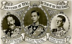 The Year of the Three Kings. King George V passed away and was seceded by his son Edward VIII who later abdicated to marry the American divorcee named Wallis Simpson. His brother, King George VI (father of the current Queen Elizabeth) came to the throne. Edward Viii, Elizabeth Ii, Wallis Simpson, Fine Art Prints, Canvas Prints, Today In History, Queen Mary, Queen Mother, British Monarchy