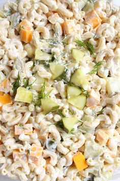 Dill Pickle Pasta Salad Spend With Pennies. Dill Pickle Pasta Salad Spend With Pennies. Dill Pickle Pasta Salad Spend With Pennies. Home and Family Dill Pickle Pasta Salad Recipe, Best Pasta Salad, Pasta Salad Recipes, Macaroni Salad Recipe With Pickles, Recipe Pasta, Fresco, Dill Recipes, Family Fresh Meals, Cooking Recipes