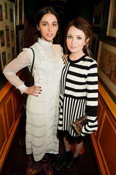 Naomi Scott and Emily Browning