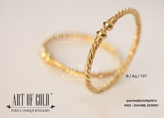 Forget the normal. Be Unique! Kids Gold Jewellery, Baby Jewelry, Gold Jewellery Design, Gold Jewelry, Jewelery, Ladies Bangles, Weird Jewelry, Gold Bangles Design, Amai