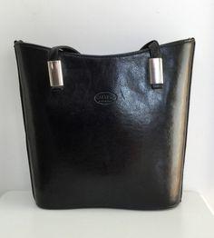 Calypso Leather Shoulder Bag in Black Leather Shoulder Bag, Hats, Accessories, Black, Fashion, Moda, Hat, Black People, Fashion Styles