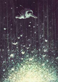 Dreams in cosmos on Digital Art Served