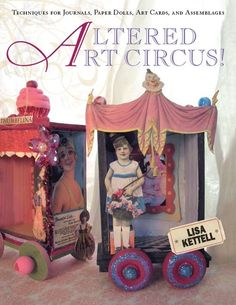 Altered Art Circus book review - Mod Podge Rocks