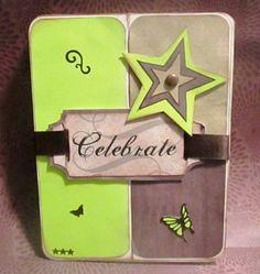 Celebrate - Masculine Card - March 2014
