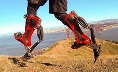 Bionic Boots make you run like a speeding ostrich