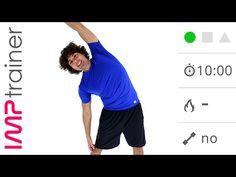 Esercizi di Stretching Per Schiena, Gambe e Glutei (Defaticamento o Seduta Singola) - YouTube