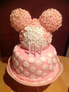 Minnie Mouse Pink Cake - BAS - precious!