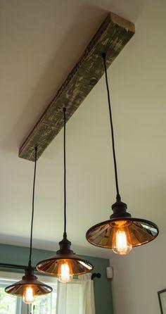 Lampe rustique/trendy