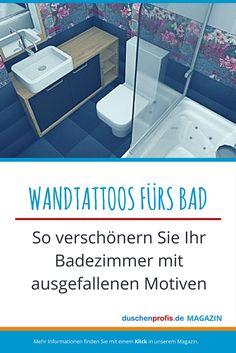 15 besten Wandtattoos fürs Bad Bilder auf Pinterest | Tiling, Wall ...