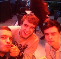Jordan, Nico, and Adam
