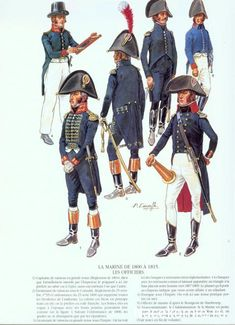 Officers French Navy