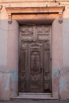 Door in Old Santa Clara Cuba