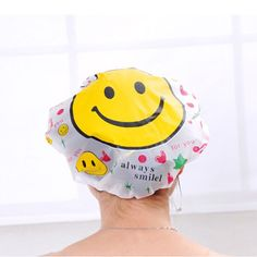 2016 Hot Sale Women Cute Cartoon Waterproof Shower Caps Women Bath Spa Caps Elastic Hats Wholesale