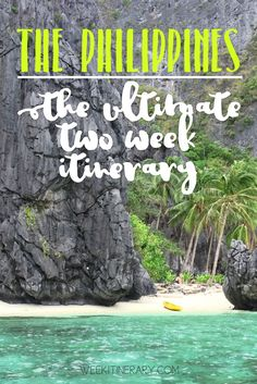 The Philippines Two week itinerary