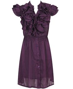 Ruffles! <3 under $30 and purple, one of my fav colors! :)