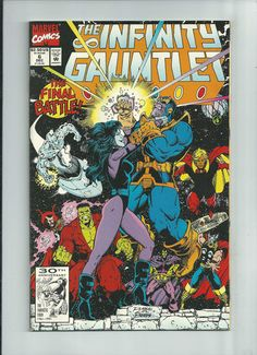 INFINITY GAUNTLET #6 Great Copper Age find starring Thanos! ~NM~ http://r.ebay.com/iH4M8Y