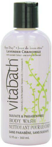 Vitabath Bath and Shower Gel, Lavender Chamomile, 12 Ounce $7.49 (save $0.50)