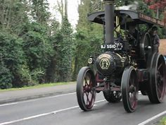Greatest Inventions The Steam Powered Traction Engine