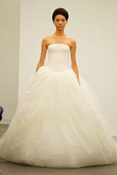 Vera Wang Ball Gown Wedding Dress