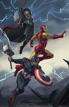 Favorite Trinity DC or Marvel? Artists tagged Favorite Trinity DC or Marvel? Marvel Avengers, Ms Marvel, Marvel Dc Comics, Rogue Comics, Heros Comics, Marvel Comic Universe, Marvel Memes, Marvel Logo, Spiderman Marvel