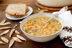 Quebec-Style Yellow Pea Soup recipe is a variation on Soupe aux pois.
