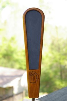 Beer Tap Handle with Chalkboard Insert by Themailmandidit on Etsy, $27.50