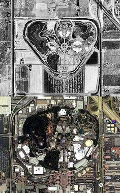 Disneyland Then & Now