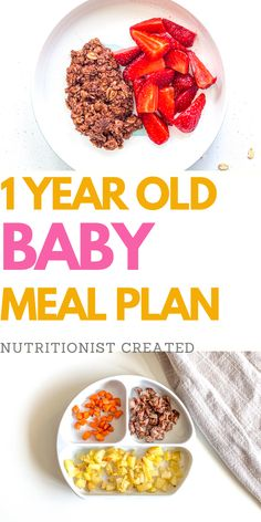 Easy Toddler Meals, Toddler Food, Oatmeal For Baby, Baby Food Recipes, Whole Food Recipes, 1 Year Old Meals, Lactation Recipes, Lactation Cookies, Baby Meal Plan