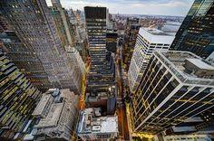 Lower Manhattan Looking Down.