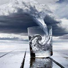 Storm in a glass