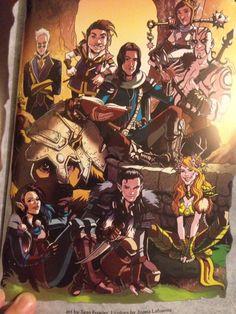 Critical Role Comic, Critical Role Characters, Critical Role Fan Art, D D Characters, Mighty Mighty, Vox Machina, Dragon Knight, Dnd Art, Little Critter