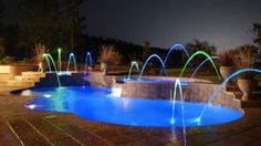 fiberglass spill way | trilogy-inground-pool-accessory-lights09