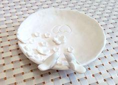 Кольцо Блюдо обручальное кольцо Блюдо от NikushJewelryArt на Etsy