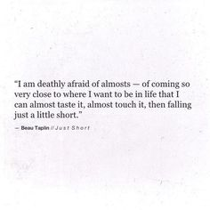 Beau Taplin | Just Short
