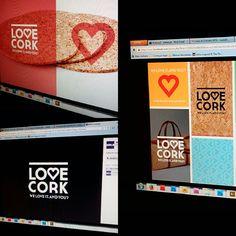 Branding LOVE CORK Cork, Branding, Brand Management, Corks, Identity Branding