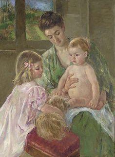 Peintre célèbre_ Mary Cassatt