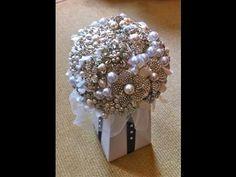 brooch centerpieces   Best How To DIY Brooch Bouquet Tutorial Part 1 09:55 Mins   Visto ...
