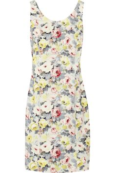 Miu Miu | Printed stretch-cotton dress | NET-A-PORTER.COM