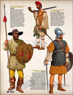 European Soldiers in the Americas, 16th Century